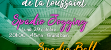Événement Spadio Gym Vacances TOUSSAINT