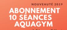 Abonnement 10 séances Aquagym !
