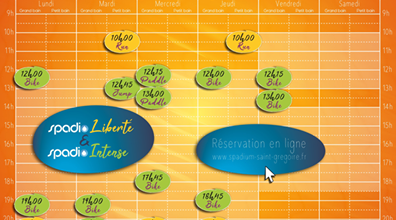 Spadio Liberté & Intense Vacances Toussaint 2020
